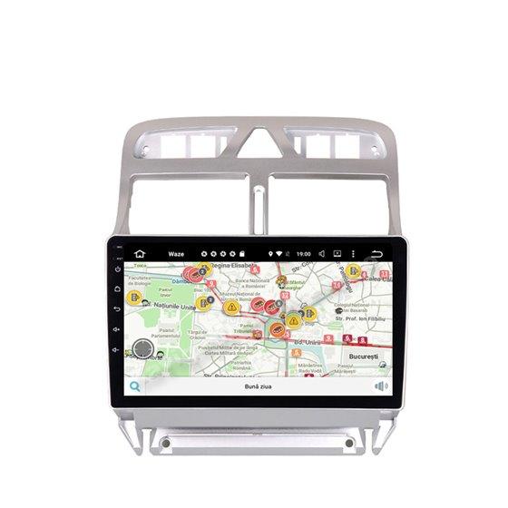 Navigatie Android Peugeot 307 Octa Core 4GB Ram Ecran 9 inch NAVD-Z8053