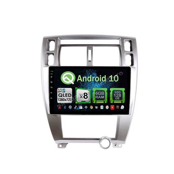 Navigatie Carplay Android 10 Hyundai Tucson Octa Core 6GB Ram 128GB SSD Ecran 9 inch NAVD-US9054