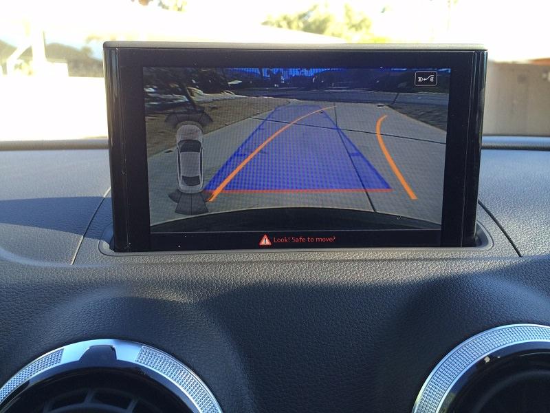 audi a3 camera video auto conectare