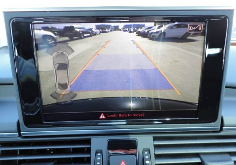 conectare camera video auto audi fata si pate mmi